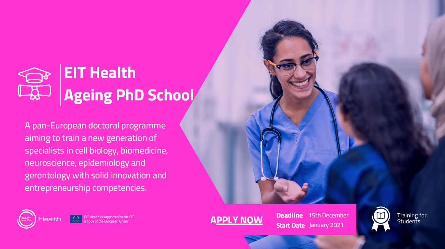 Application EIT Health PhD Programme